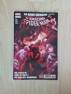 Marvel Comics Amazing Spider-Man 800 Near Mint Condition First Print Alex Ross Cover Art