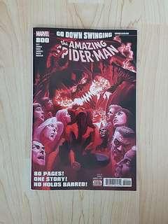 Marvel Comics Amazing Spider-Man 800 Near Mint Condition First Print Alex Ross Cover Art