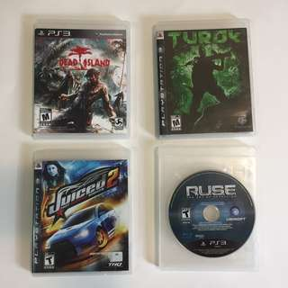 Mixed PS3 Games for only $5 each