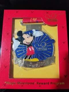 Disney 2017'入園10次award 掛頸牌