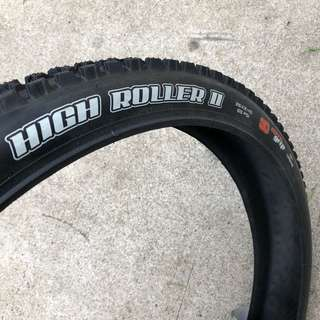 New: Maxxis Highroller II 3C MaxxGrip 26x2.40 Wired Tyre