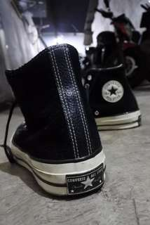 Converse 70'S High Suede Black size 40 fit 41