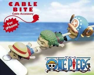 One Piece / 龍珠 / 龍貓 Cable Bite!