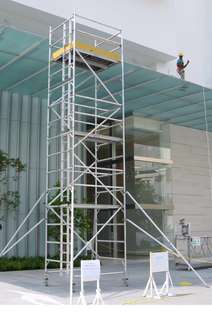 Approved Scaffold Contractor / Aluminum Mobile Scaffold