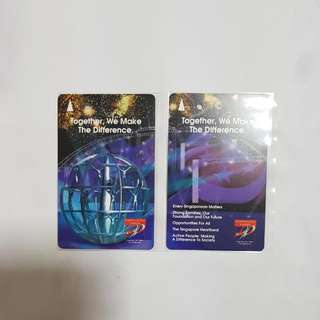 MRT Cards - National Day Parade
