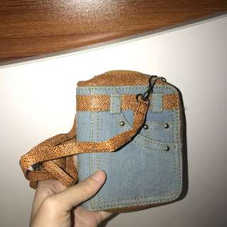 Jeans Pants Mini Bag