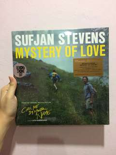 Sufjan stevens mystery of love ep