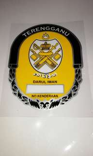 Terengganu windscreen sticker decal