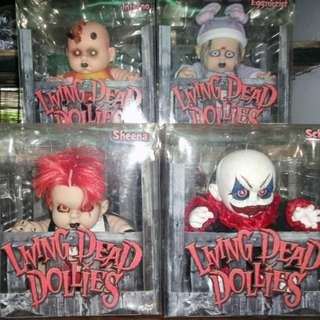 Living Dead Dollies: Series 2 - SOLD ONLY AS A SET