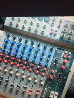 Audio Mixer 10 channel with USB