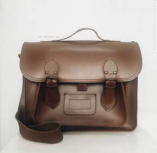 Leather Postman Bag Smith Original