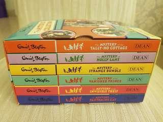Enid Blyton box set of 6 books - new