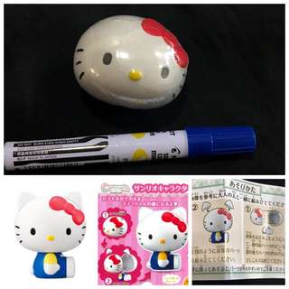 Hello Kitty x Bandai gashapon