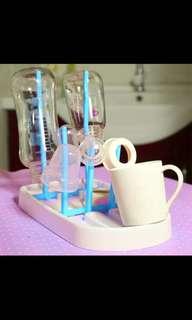 Bottle rack dish drying