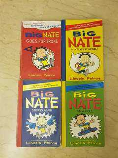 Big Nate 4 titles @ $5 each + free book