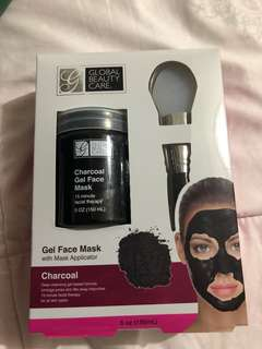 Charcoal mask gel