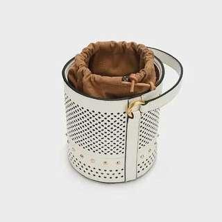 Matte White Hollow Bucket