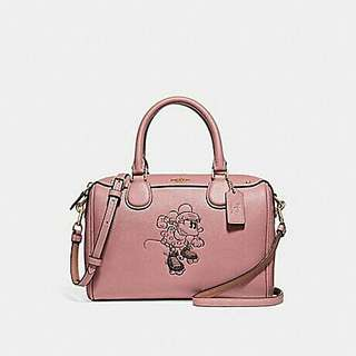 MINI BENNETT SATCHEL WITH MINNIE MOUSE MOTIF. Style no. 29356