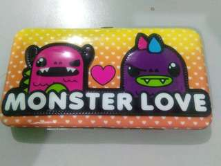 New usa Monster design wallet