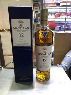 The macallan 12 year double cask highland single malt scotch whisky 700ml 洋酒 威士忌