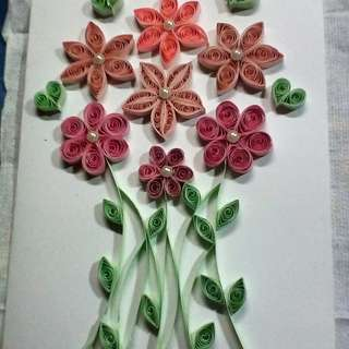 Handmade Quilling Card