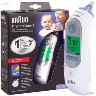 🚚 Braun ThermoScan 7 Infrared Ear Thermometer