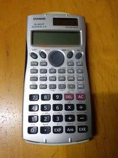 Casio Calculator 計算機 fx-3650P 有蓋 太陽能 /入電