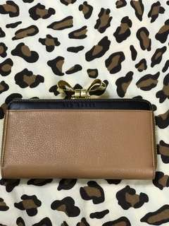 Ted Baker Metal Bow Wallet