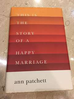 This is the story of a happy marriage ( hard cover)