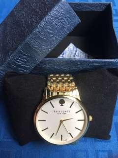 Kate Spade Gold Luxury Watch