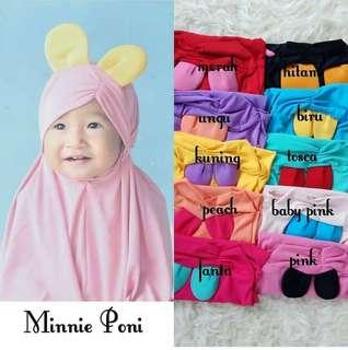 🚚 Minnie Poni Hijab