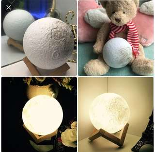 Moon light & bluetooth speaker 2 in 1