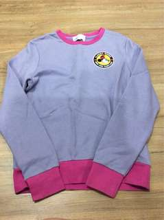 Hong Kong Disneyland sweater purple