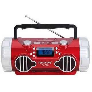 Radio and speaker