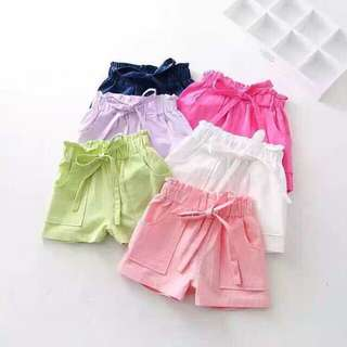 Candy Girl Short Pant 4-5yrs