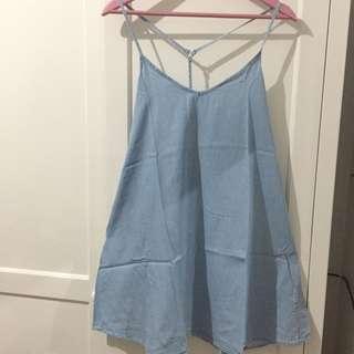 Pull & Bear Overall Dress