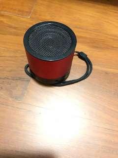 Mini USB speaker with SD card slot