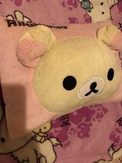 🚚 拉拉熊/懶妹抱枕/方形枕/汽車枕