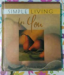 Devotional Book - Simple Living for You