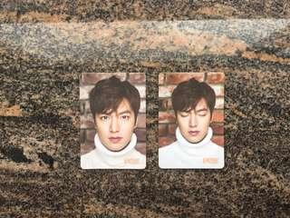 Yes card 男星 李敏鎬 李民浩  Lee Min Ho $5一張 (所有yes card最少買四張)