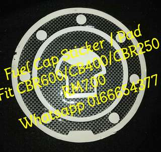 Fuel Tank Cap Sticker Pad