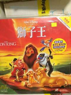 the Lion King LD Disney 獅子王 雷射光碟
