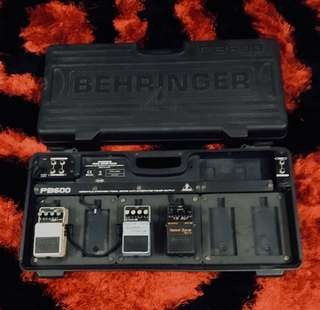 Behringer Pedal Box(hard case)