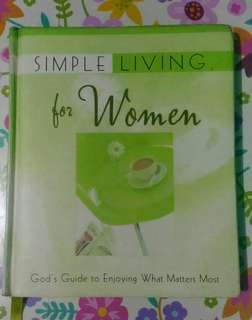 Devotional Book - Simple Living for Women