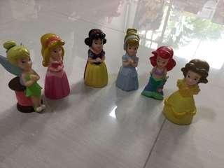 🚚 Disney Princess Figurines