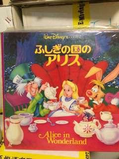 Alice in Wonderland Disney LD 愛麗絲夢遊仙境 雷射光碟 日本版