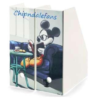 日本直送 Mickey 米奇油畫風 Magazine Rack / 雜誌架