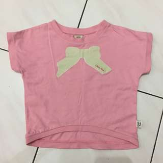 Disney Pooh Pink Top 1-4yrs