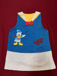 Donald duck apron original disney free postage