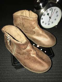 Authentic Zara leather boots